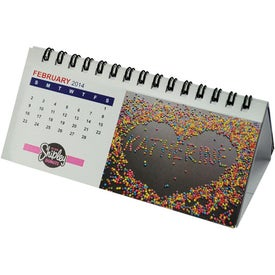 Company Small Desk Calendar