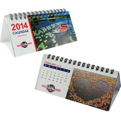 Small Desk Calendar Custom Calendars