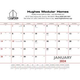 Basic Desk Pad Calendar