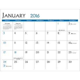 Small Quantity Custom Calendar for your School
