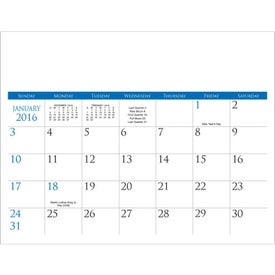 Small Quantity Custom Calendar with Your Slogan