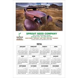 Small Hanger, Printed Span-a-Year Calendar (2017)