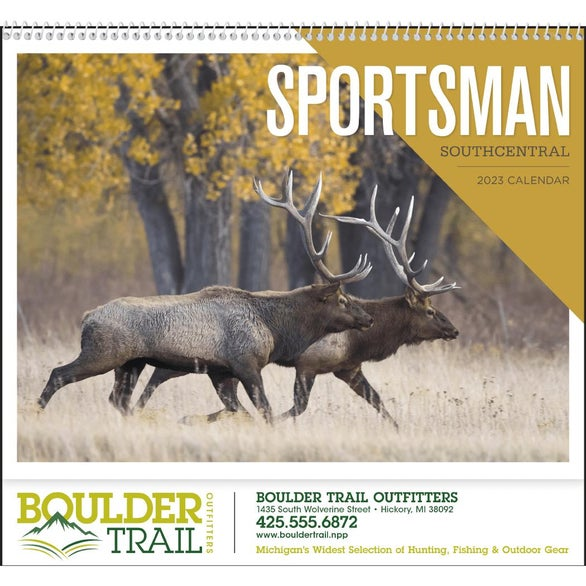 Southcentral Sportsman Appointment Calendar