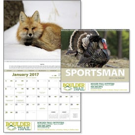 Monogrammed Southeast Sportsman Appointment Calendar