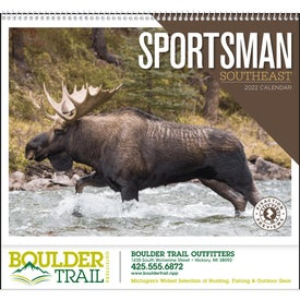 Southeast Sportsman Appointment Calendar for Customization