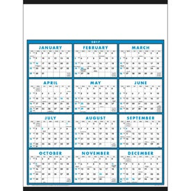 Span-A-Year Non-Laminated Calendar for Promotion