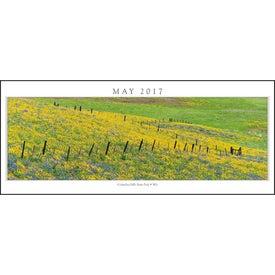 Custom Spanning America Panoramic Exec Calendar