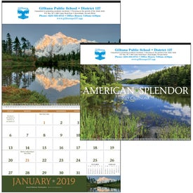 American Splendor - Executive Calendar with Your Logo