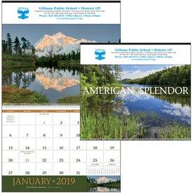 American Splendor - Executive Calendar with Your Logo