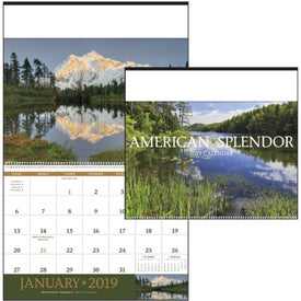Custom American Splendor - Executive Calendar