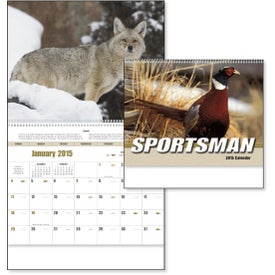 Sportsman Appointment Calendar for Marketing