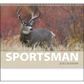 Sportsman Appointment Calendar for Your Organization