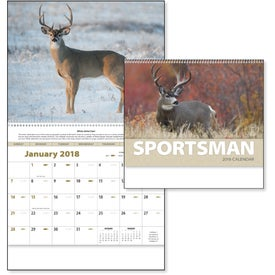 Promotional Sportsman Appointment Calendar