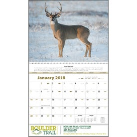 Promotional Sportsman Appointment Calendar