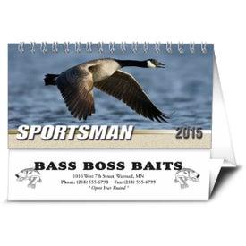 Sportsman Desk Calendar for Promotion
