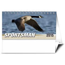 Sportsman Desk Calendar Printed with Your Logo