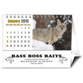 Company Sportsman Desk Calendar