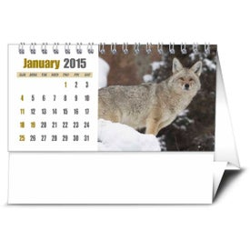 Branded Sportsman Desk Calendar