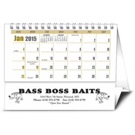 Promotional Sportsman Desk Calendar