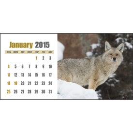 Sportsman Desk Calendar Printed with Your Logo