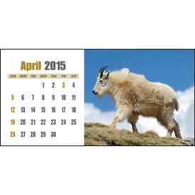 Printed Sportsman Desk Calendar