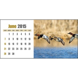 Sportsman Desk Calendar for Your Company