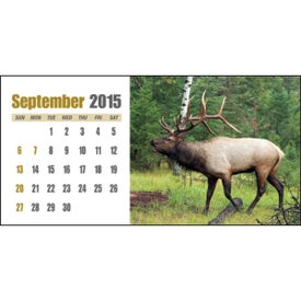 Sportsman Desk Calendar with Your Logo
