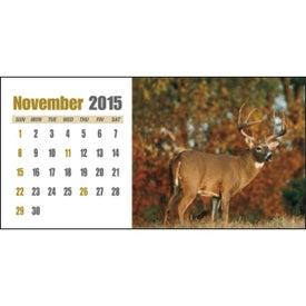Sportsman Desk Calendar for Customization