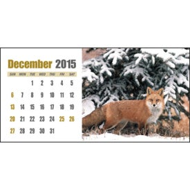 Sportsman Desk Calendar for Promotion