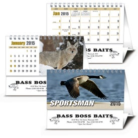 Advertising Sportsman Desk Calendar
