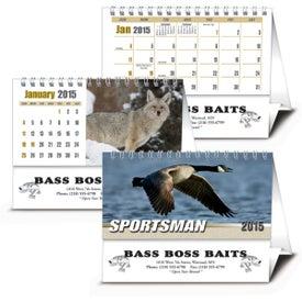 Advertising Sportsman Desk Calendar