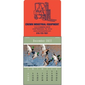 Sportsmen Super Size Press N Stick Calendar