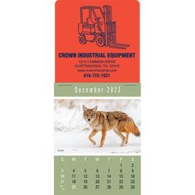 Sportsmen Super Size Press N Stick Calendar