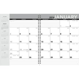 Standard Year Desk Planner with Custom Cover for Advertising