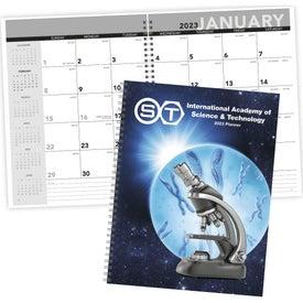 Printed Standard Year Desk Planner