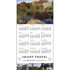 Company State Tour Z-Fold Greeting Card Calendar