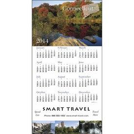 Company State Tour Z-Fold Greeting Card Calendar