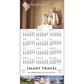 Printed State Tour Z-Fold Greeting Card Calendar