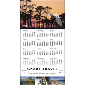 Branded State Tour Z-Fold Greeting Card Calendar