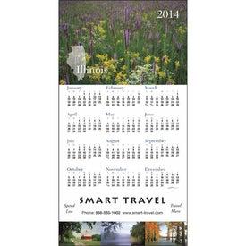 State Tour Z-Fold Greeting Card Calendar Giveaways