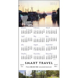 State Tour Z-Fold Greeting Card Calendar for Advertising