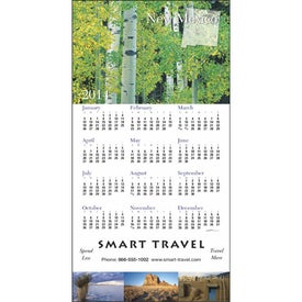 Imprinted State Tour Z-Fold Greeting Card Calendar