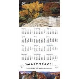 Logo State Tour Z-Fold Greeting Card Calendar