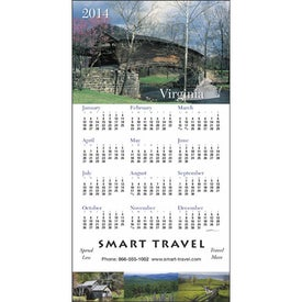 State Tour Z-Fold Greeting Card Calendar for Your Church