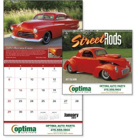 Street Rods Appointment Calendar for Advertising