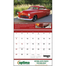 Street Rods Appointment Calendar for Marketing