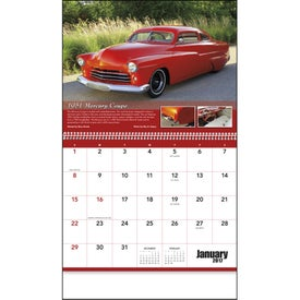 Street Rods Appointment Calendar for Your Organization