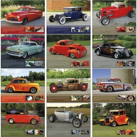 Street Rods Appointment Calendar Branded with Your Logo