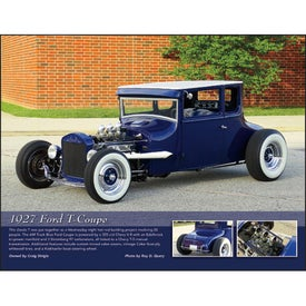 Street Rods Appointment Calendar Imprinted with Your Logo