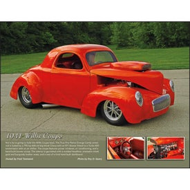 Street Rods Appointment Calendar for Customization